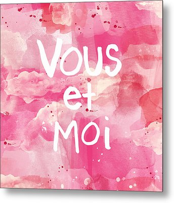 Vous Et Moi Metal Print by Linda Woods