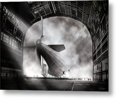 Voyage To Infamy Metal Print by Peter Chilelli