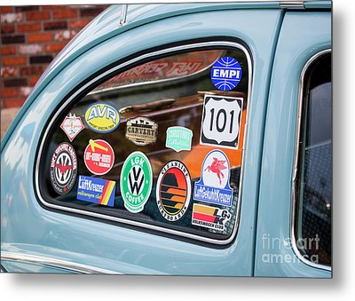 Metal Print featuring the photograph Vw Club by Chris Dutton