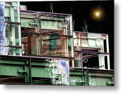 Wa State Convention And Trade Center Metal Print by Tim Allen
