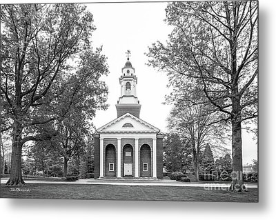 Wabash College Chapel Metal Print by University Icons