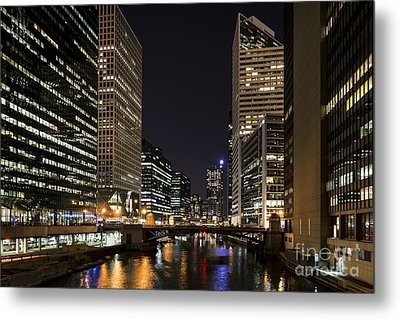 Wacker Avenue Metal Print