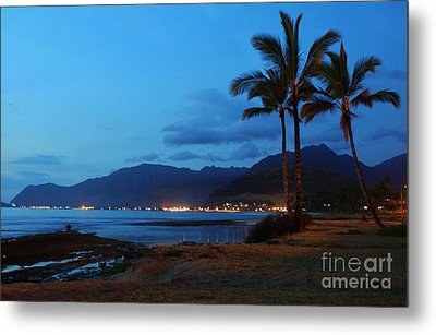 Waianae Night Metal Print by Craig Wood