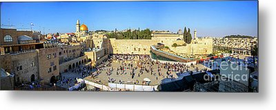 Haram Al Sharif / Temple Mount - Israel / Palestine Metal Print by Wietse Michiels