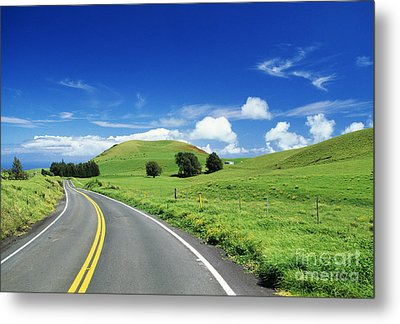 Waimea Ranch Land Metal Print by Bob Abraham - Printscapes