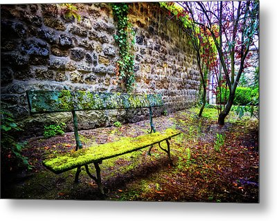 Metal Print featuring the photograph Waiting by Debra and Dave Vanderlaan