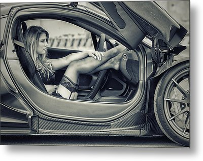 Waiting For A Driver Metal Print by ItzKirb Photography