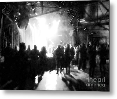 Metal Print featuring the photograph Waiting For A Show by Utopia Concepts