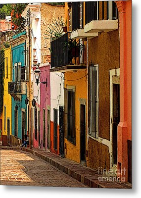 Waiting For Friends Metal Print by Mexicolors Art Photography