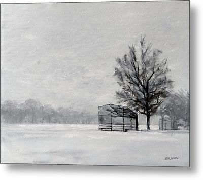Waiting For Spring Metal Print by Peter Salwen