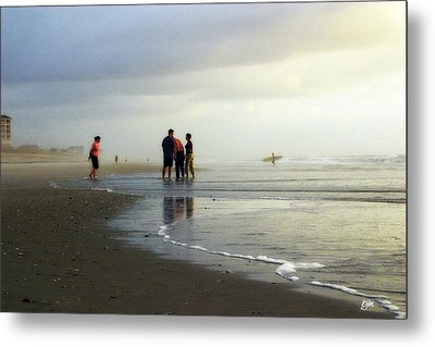 Metal Print featuring the photograph Waiting For The Sun by Phil Mancuso