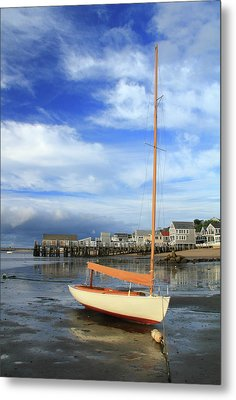 Waiting For The Tide Metal Print by Roupen  Baker