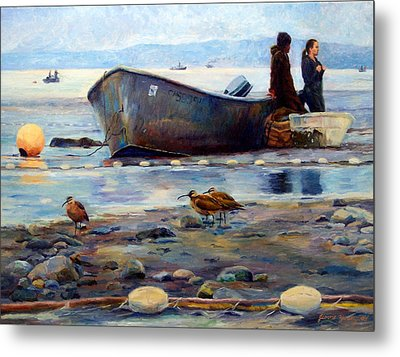 Waiting Metal Print by Jeanne Young