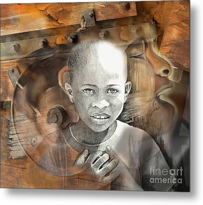 Waiting On The World To Change Metal Print by Bob Salo