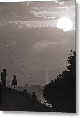 Metal Print featuring the photograph Waiting by Ron Dubin