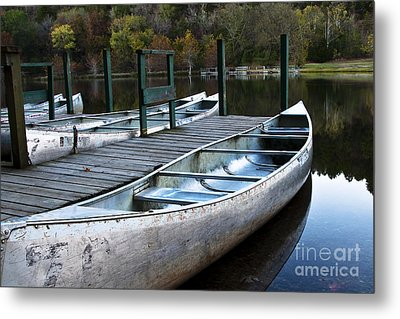 Metal Print featuring the photograph Waiting by Tamyra Ayles