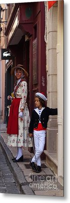 Waiting To Join The Parade Metal Print