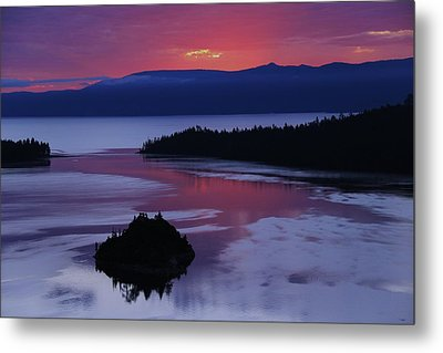 Metal Print featuring the photograph Wake Up In Lake Tahoe  by Sean Sarsfield