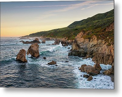Waking Up In Cali Metal Print by Aron Kearney