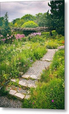 Walk Among The Wildflowers Metal Print by Jessica Jenney