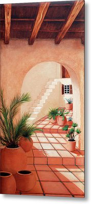 Walk Into The Light - Prints Made From Original Oil Paintings By Mary Grden Metal Print
