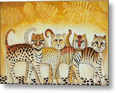 Walk On The Wild Side Metal Print