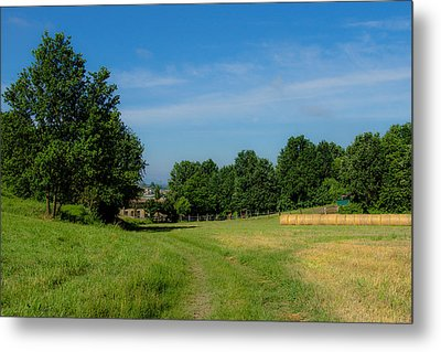Walk To The Countryside  Metal Print