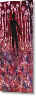 Walking Away Metal Print by Marianna Mills