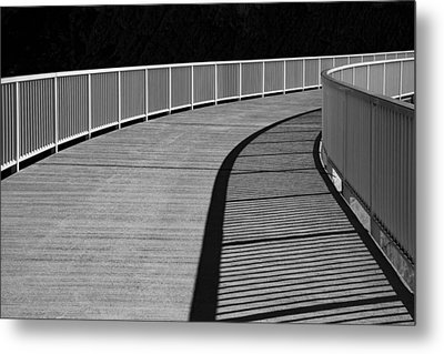 Metal Print featuring the photograph Walkway by Chevy Fleet