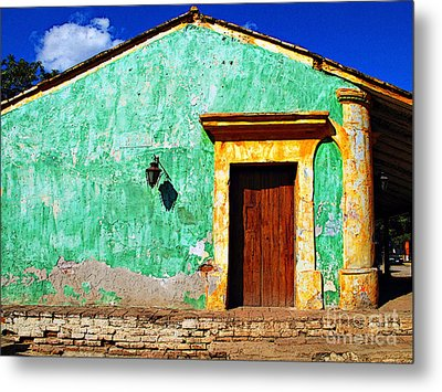 Wall Of Sun By Darian Day Metal Print by Mexicolors Art Photography