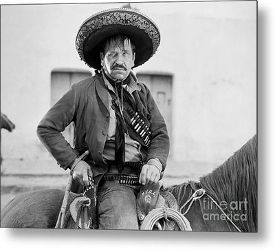 Wallace Beery (1885-1949) Metal Print by Granger