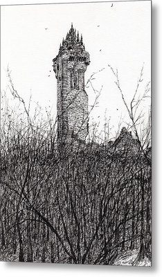 Wallace Monument Metal Print