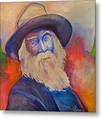 Walt Whitman Metal Print by Robert Lacy