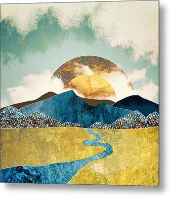 Wanderlust Metal Print by Katherine Smit