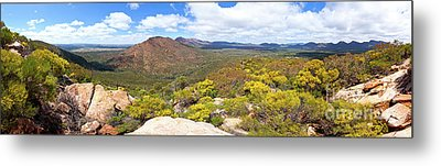 Metal Print featuring the photograph Wangara Hill Flinders Ranges South Australia by Bill Robinson