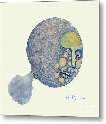 Waning Moon Metal Print by Jim Rehlin