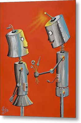 Wanna Screw Metal Print by Chris  Fifty-one