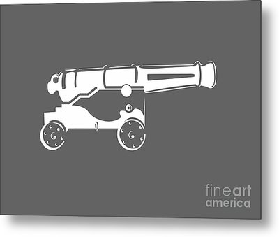 War Cannon Metal Print by Frederick Holiday