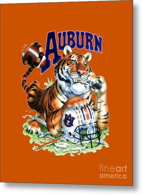 War Eagle  Metal Print by Herb Strobino