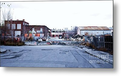 War Zone 3 Montreal Metal Print by Reb Frost