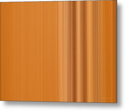 Warm Line Metal Print by Leland D Howard