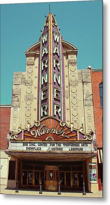 Warner Theatre, Erie, Pa Metal Print by Jim Zahniser