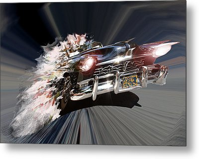 Metal Print featuring the photograph Warp Speed by Christopher Woods