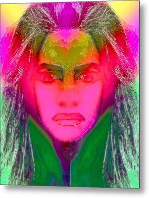 Warrior Goddess IIII Metal Print by Devalyn Marshall