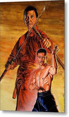 Warrior Of The Past.   Metal Print