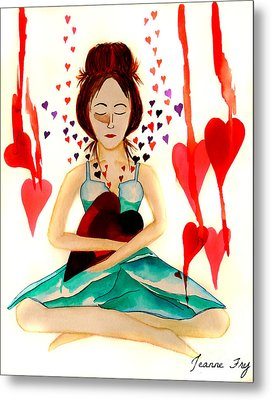 Warrior Woman - Tend To Your Heart Metal Print