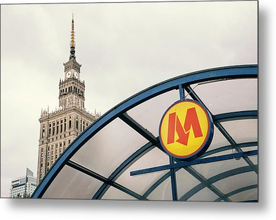 Metal Print featuring the photograph Warsaw by Chevy Fleet