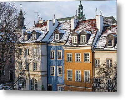 Metal Print featuring the photograph Warsaw, Poland by Juli Scalzi