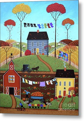 Wash Day Metal Print by Mary Charles