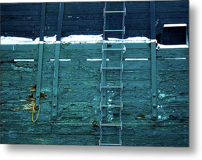 Washingon Yellow Rope Metal Print